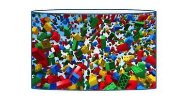 Lego Bricks  Lampshade / Ceiling Light Shade Kids Free P+P