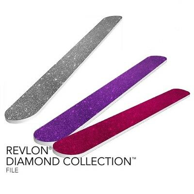 REVLON DIAMOND COLLECTION Nail File (pack of 3) - $4.98 | PicClick