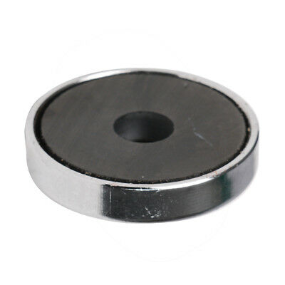 36mm strong ferrite magnet Ferrite Magnets Disc Disk Round Through Hole Mounting