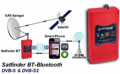 ALPSAT SatFinder SF03-BT Bluetooth KU/C/KA-Band,DVB-S/S2,Real Time Spectrum