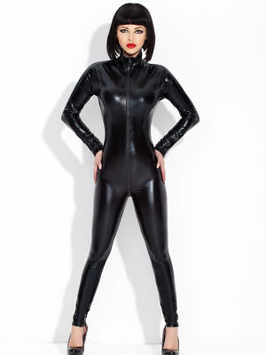 DOMINA CATSUIT CATWOMEN BAD GIRL LACK VINYL LATEX LEDER FETISCH WETLOOK Bondage