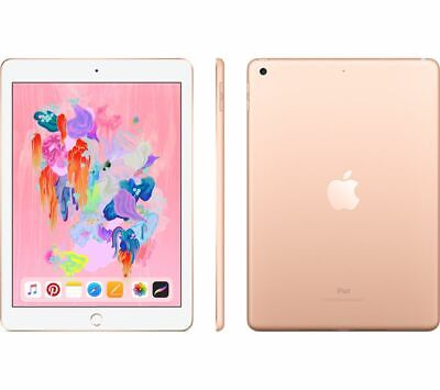 "APPLE 9.7"" iPad - 128 GB, Gold (2018) - Currys"