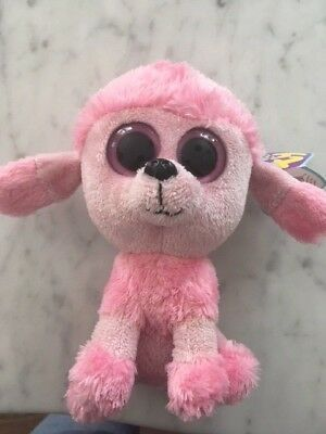 "TY PRINCESS -LIGHT Pink Poodle Dog 6"" Beanie Boo!  Retired  RARE ... e5c8af193df8"
