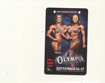 JOE WEIDER'S OLYMPIA---the ORLEANS---Las Vegas,NV--never swiped--Room key--K-18