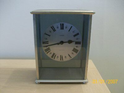 Vintage Mappin & Webb   Mantel Clock  Working  Luxor Model  Swiss Made