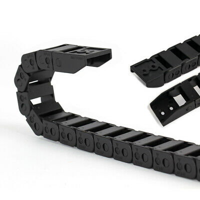 CNC Cable Chain Track L.1M Non Snap-Open Plastic Towline Transmission Drag Chain