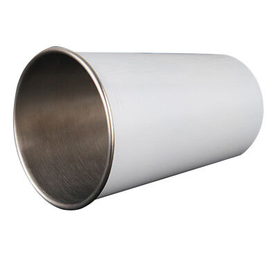 500ml Stainless Tumbler Mug Cup Travel Coffee Water Drinks Pint Cup White