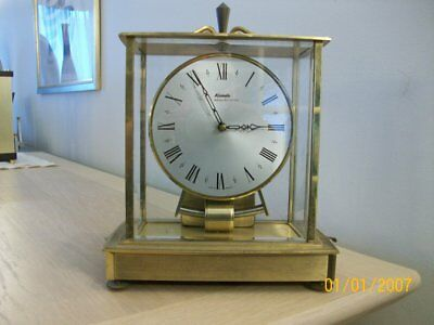 Vintage Kundo Electronic  Mantel Clock  Working  By Kieninger & Obergfell