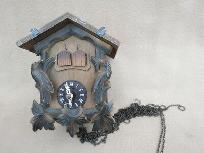 Vintage Black Forest Musical Cuckoo Clock For Spares Repair
