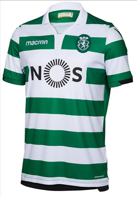 NEW SCP Sporting Club Portugal 2017/2018 Home Jersey Green