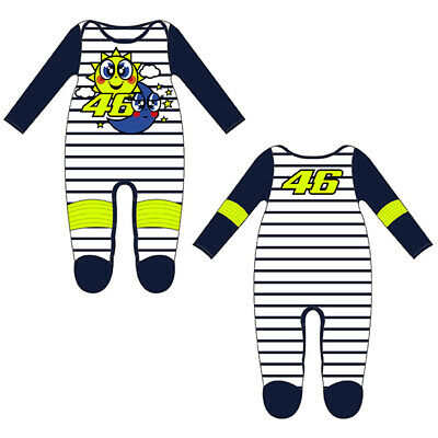 VR46 BABY GROW SUIT OVERALL TURTLE Official Valentino Rossi Merchandise