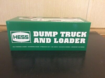 2017 Hess Toy Dump Truck And Loader Case Fresh
