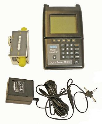 BIRD 5000-EX Digital Power Meter + 5010 Directional Power Sensor + Bird DPM-5L2