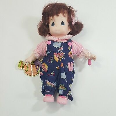 Precious Moments Garden of Friends 1 Edition Pansy July Doll