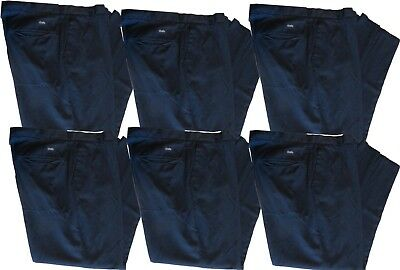 32x28 (6) Used Uniform Work Pants Cintas, Unifirst, Dickies, Redkap ect
