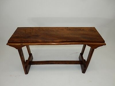 Gorgeous  Chinese Intricately Carved Rosewood Altar Table/  Console 42 inches