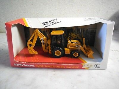 Vtg John Deere 310SE Tractor Backhoe Die Cast Metal 1/50 Scale Replica Model