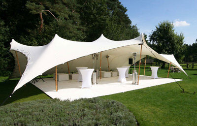 Commercial Wedding Event Concert Stage Patio Party Coated Bedouin Stretch Tent
