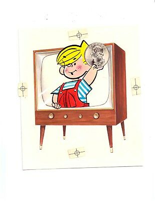 1950s Dennis the Menace Kellogg's Cereal Box Promotion * Lee Holley original art