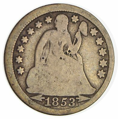 1853 Seated Liberty Silver Dime *293