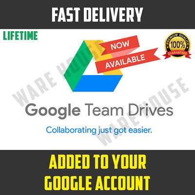 Google Drive Unlimited added to your Google Account Lifetime PROMOTION - NOT EDU