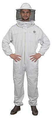 Humble Bee 410 Polycotton Beekeeping Suit with Round Veil (XXX-Large)