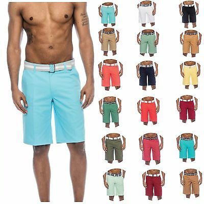 MYSTERY 3/6 PACK True Rock Fashion Casual Men Shorts Bahamas Belt Jogger Shorts