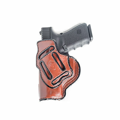 Multi-Carry Holster For Ruger Lcr Iwb & Owb Leather Holster.
