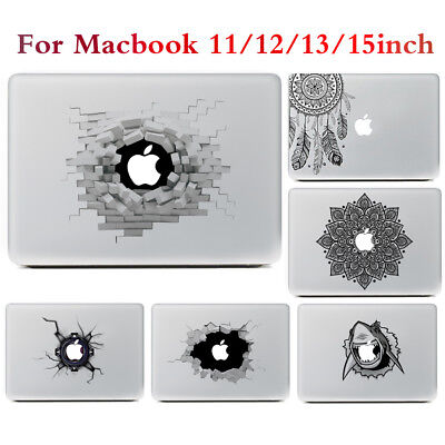 "Vinyl Sticker Laptop Decal Skin Cover For Macbook Air/Pro/Retina 11"" 12"" 13"" 15"""
