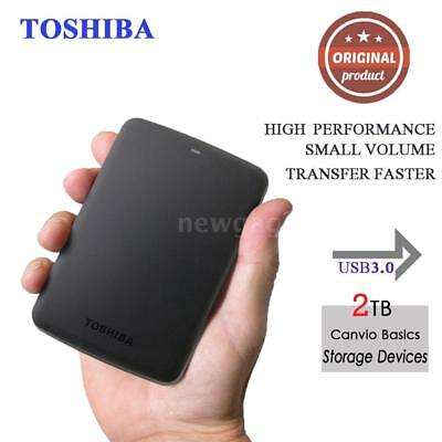 Toshiba HDTB320YK3CA Canvio Advance 2TB Portable External Hard Drive USB3.0 P0K3