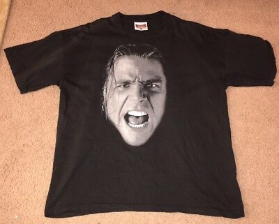 b14df5a33 MENS VINTAGE SHAWN Michaels HBK Wwf Shirt XL 1997 Wwe Wcw DX NWO ...