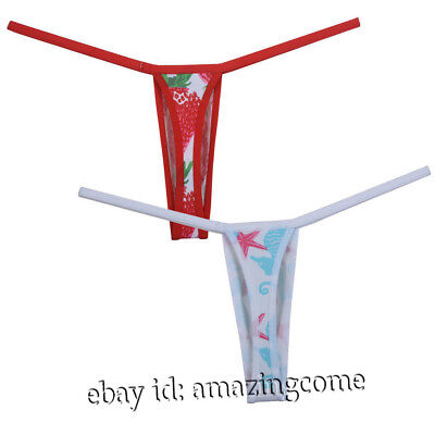 a82d2cd6ea81 Sexy Mens G-String Thong Underwear Micro Cut T-back Male Spandex Bottoms  Shorts