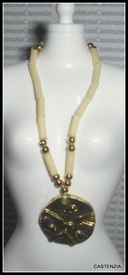 Jewelry Barbie Doll Of The World Ghanian Faux Gold Beaded Necklace Accessory