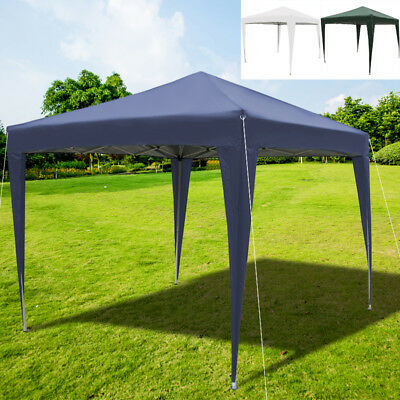 Heavy Duty 3X3m Garden Gazebo Commercia Party Tent Canopy Pop-Up Folding Marquee