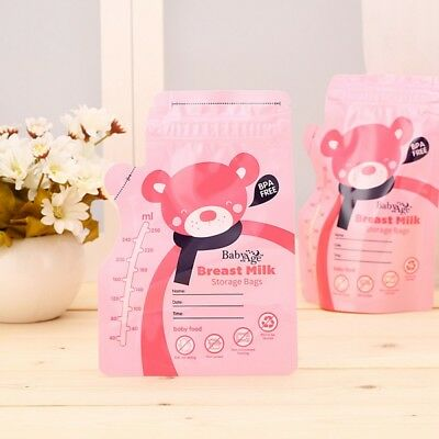 US Pre-Sterilised Breastmilk Baby Breast Milk Storage Bags Pouches 30PCS/set
