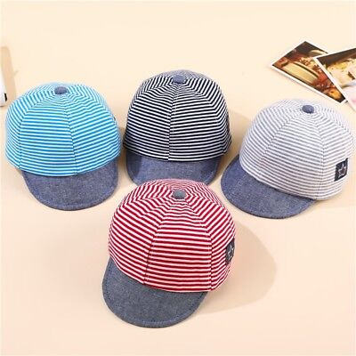 Baby Infant Boy Girl Unisex Cute Cat Beret Baseball Sun Cap Casquette Peaked Hat