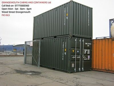 2019 One Trip Shipping Container's FOR SALE £2095+VAT portable cabin shed store