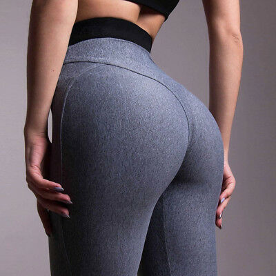 SPORT LEGGING TAILLE Basse Femmes 2 Couleurs Sexy Pantalon Jegging ... ffcd869dd17