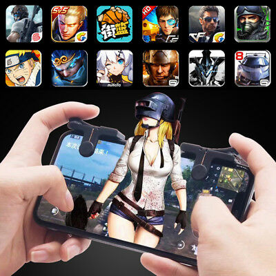 Gaming Trigger Fire Button Smart Phone Mobile Shooter Controller PUBG C9 CQ2