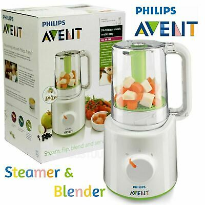 Philips Avent Combined Steamer & Blender│BPA Free Processor│SCF870/21│For Baby