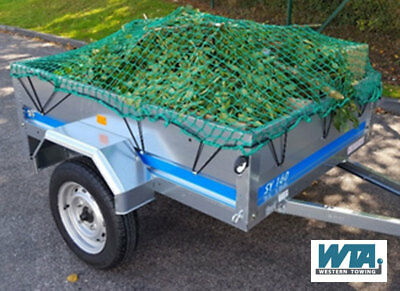 Heavy Duty Cargo Net for trailers, pick-ups & skips up to 2.1m long x 1.4m wide