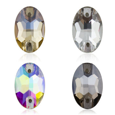 Various Size Clear Cut Crystal Glass Rhinestones Point Back jewellery stones