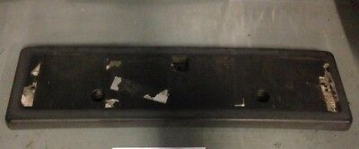 Jeep Commander Front Number Plate Mounting Plinth Plate Holder