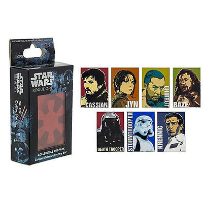 Disney Parks Star Wars Rogue One Mystery Pin Pack Box contains 2 random pins
