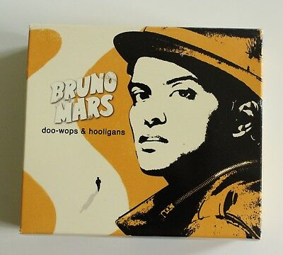 BRUNO MARS - doo-wops & hooligans [deluxe edition CD-Box]