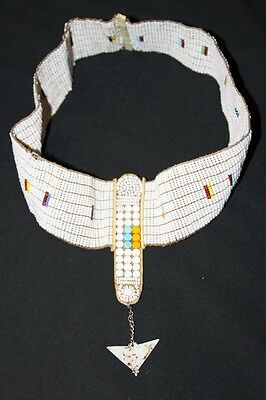 African Maasai Masai Beaded Ethnic Tribal Head Crown Tiara Jewelry - Tanzania 07