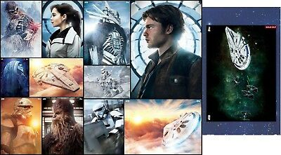 Topps Star Wars Card Trader The First Solo Premiere Set Of 11 Cards Digital