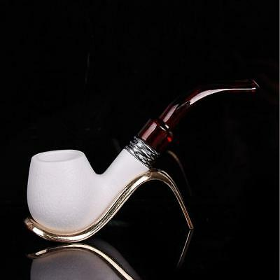 Resin Enchase Smoking Pipe Tobacco Cigarettes Cigar Pipes Gift Durable Gift Pipe