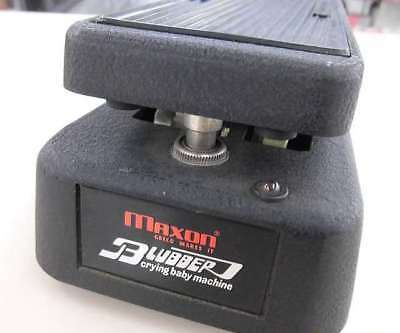 Used! MAXON BLUBBER Guitar Effects Wah Pedal