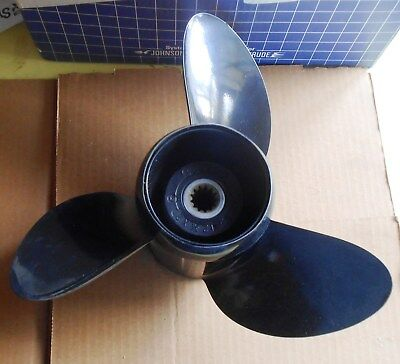 OMC aluminum propeller, #389788, New in box, 12 3/4 X 21